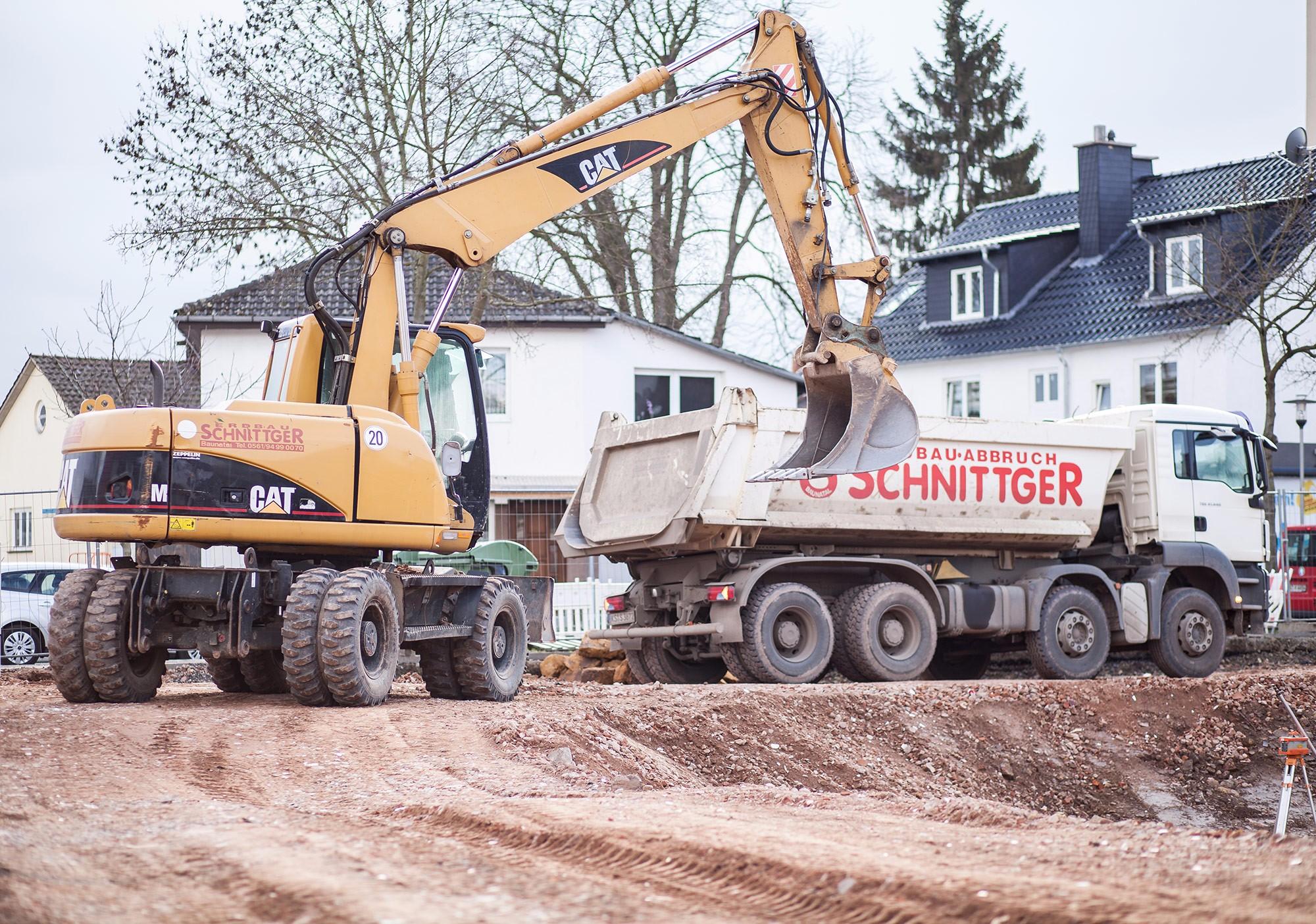 Tiefbau-/Straßenbauarbeiten